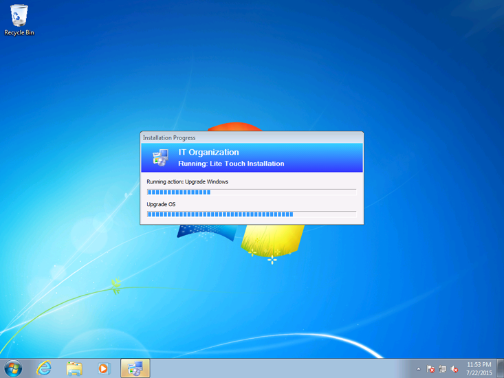 windows 7 to 10 upgrade process