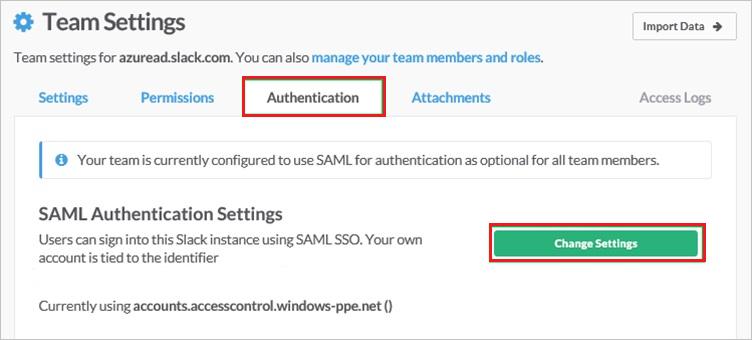 Tutorial: Azure Active Directory integration with Slack
