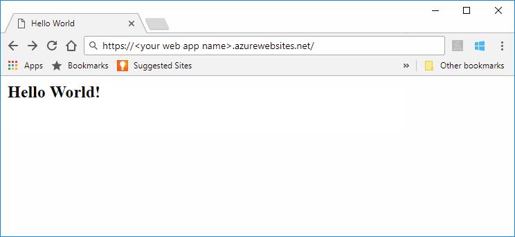 Create a Java web app on Linux - Azure App Service