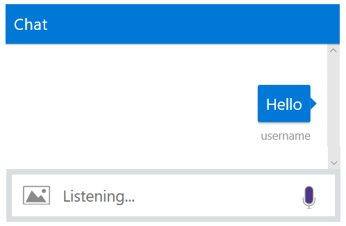 Enable speech in Web Chat - Bot Service   Microsoft Docs