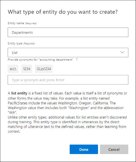 Add example utterances - LUIS - Azure Cognitive Services | Microsoft