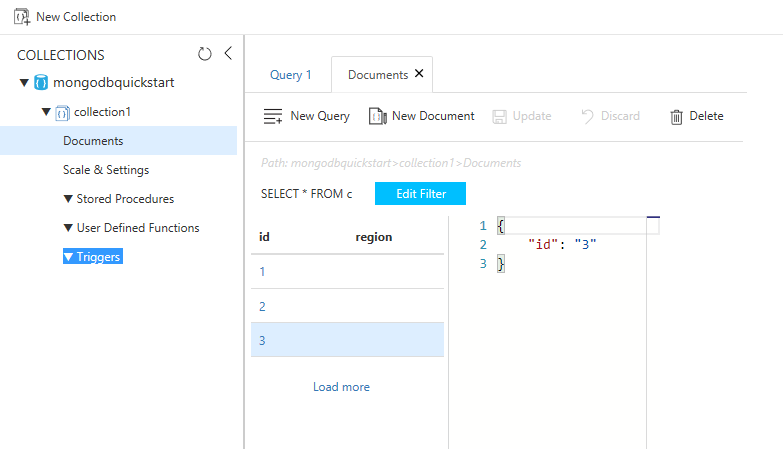 Connect a Node js MongoDB app to Azure Cosmos DB | Microsoft