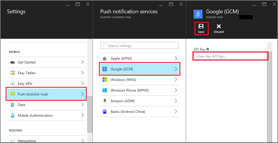 Add push notifications to your Xamarin Android app - Azure