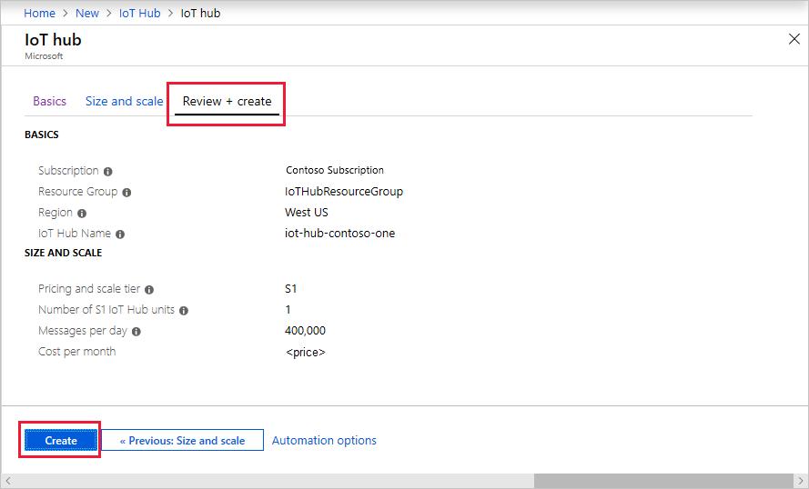 Send telemetry to Azure IoT Hub quickstart (C) | Microsoft Docs