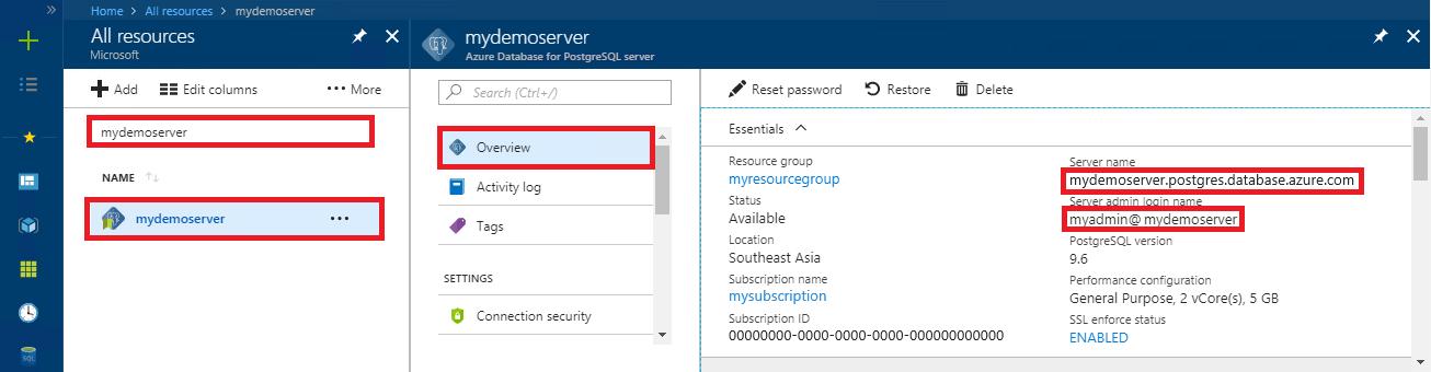 Use Node js to connect to Azure Database for PostgreSQL - Single