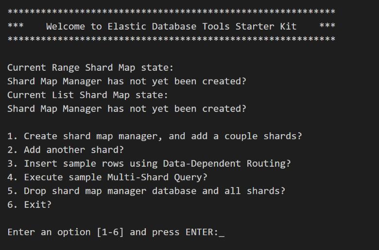 Get started with Elastic Database Tools - Azure | Microsoft Docs