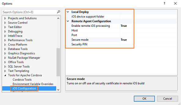 Setup guide: Target iOS mobile devices in a Visual Studio Tools for