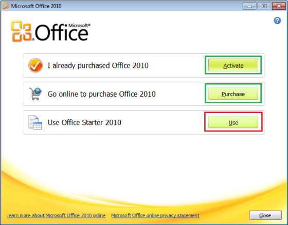 Can't install Office Starter 2010 on Windows 8 - Office ...
