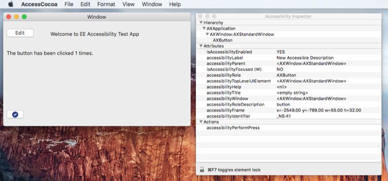 Accessibility on macOS - Xamarin | Microsoft Docs