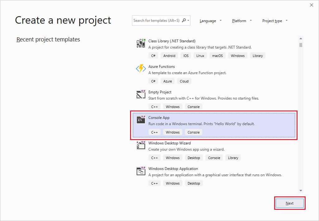 připojení aplikace std