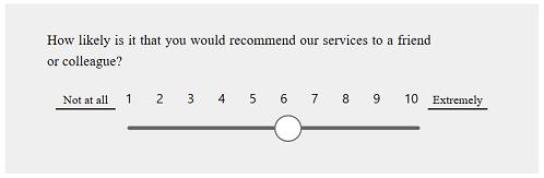 c4d0e5076f5e Příklad otázky se skórem loajality zákazníků