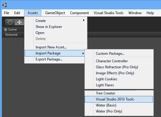 Visual studio 2018 tools for unity что это такое