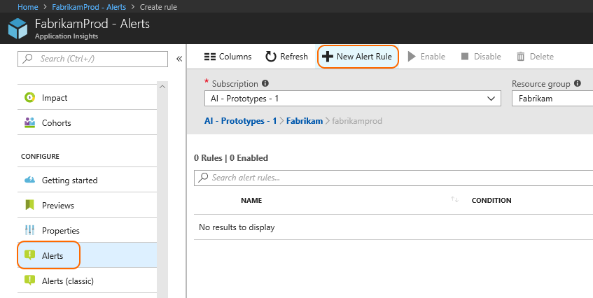 Alert on issues in Azure Cloud Services using the Azure