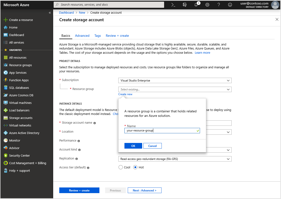 Tutorial: Migrate on-premises data to Azure Storage by using
