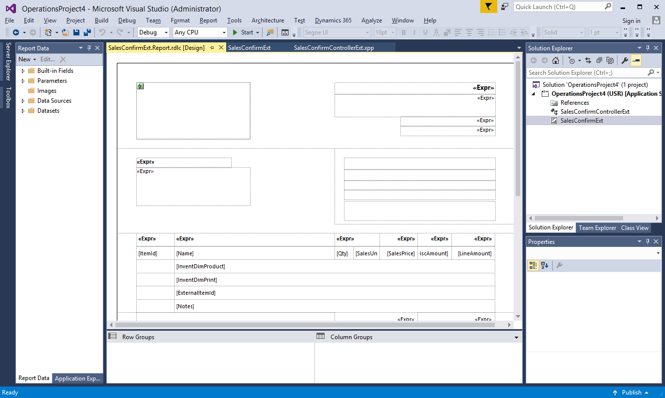 Create custom designs for business documents - Finance & Operations ...