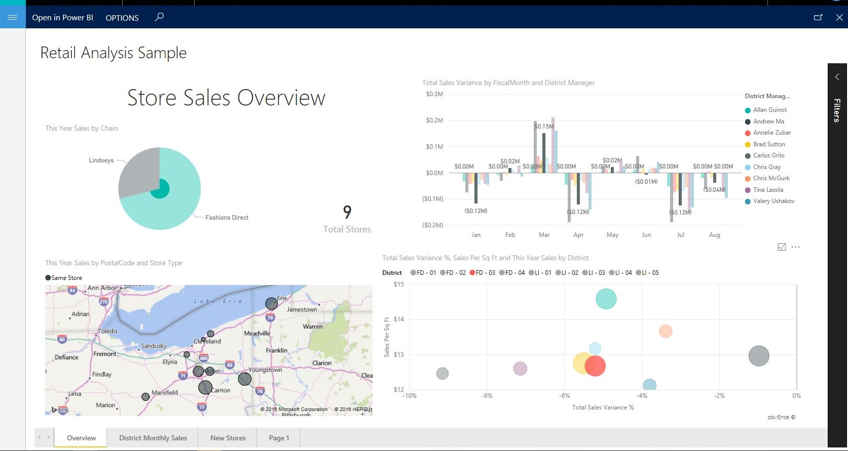 Pin Power BI reports to workspaces - Finance & Operations | Dynamics ...