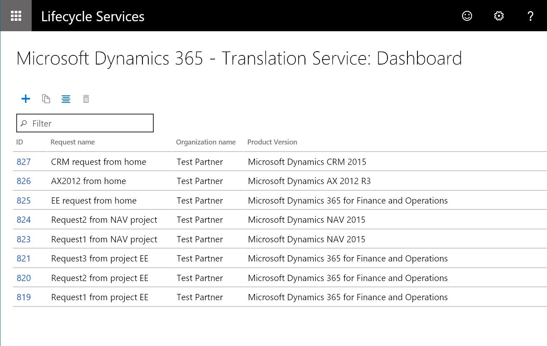 Microsoft Dynamics 365 Translation Service - Finance & Operations ...
