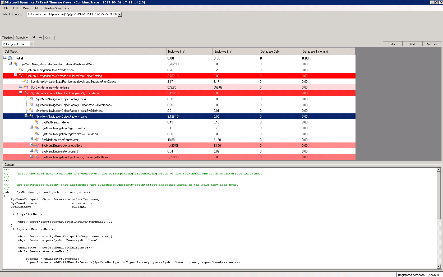 Diagnose issues and analyze performance by using Trace parser ...