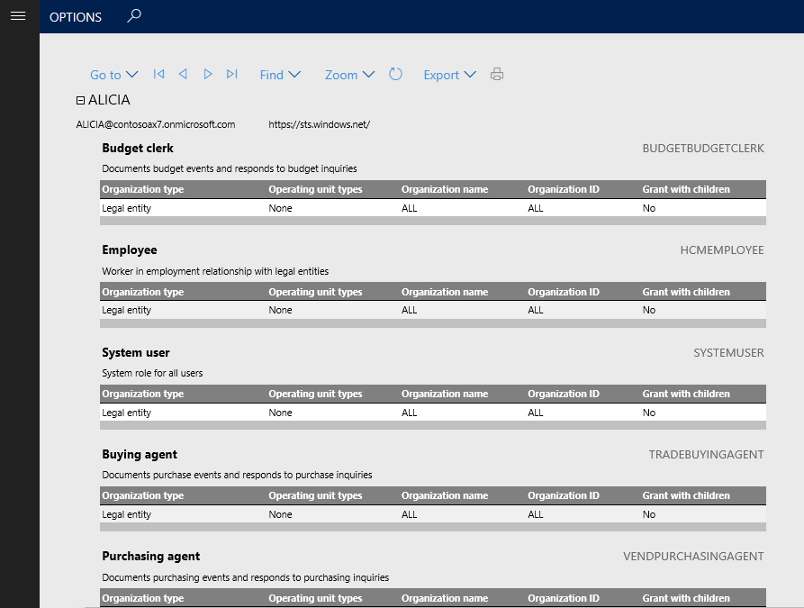 Out-of-box security reports - Finance & Operations | Dynamics 365 ...