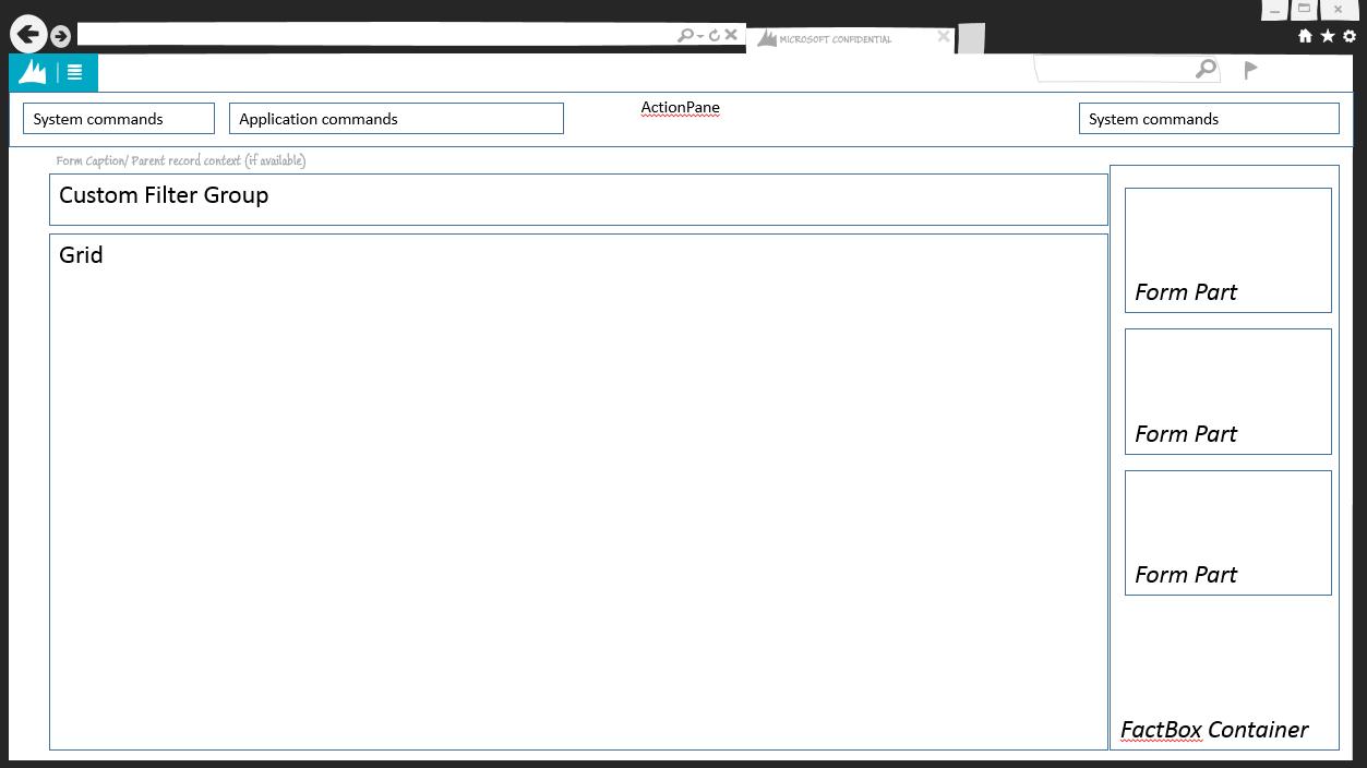 Details Master form pattern - Finance & Operations | Dynamics 365 ...
