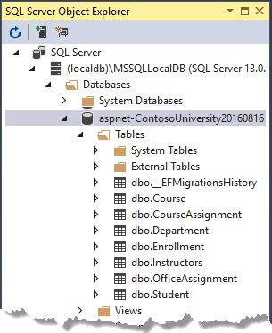 ASP.NET Core MVC mit Entity Framework Core: Datenmodell (5 von 10 ...