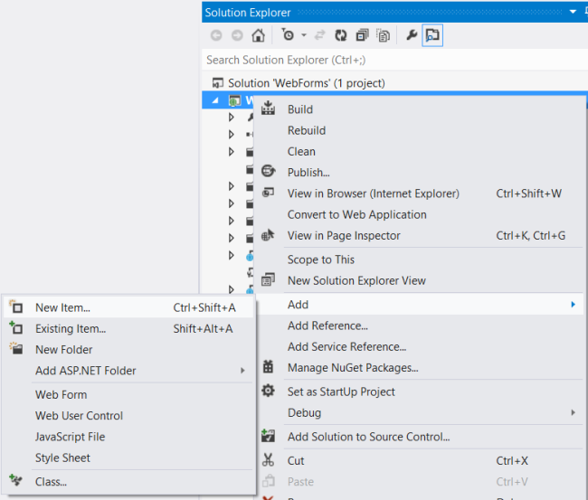Verwenden Web-API mit ASP.NET Web Forms | Microsoft Docs