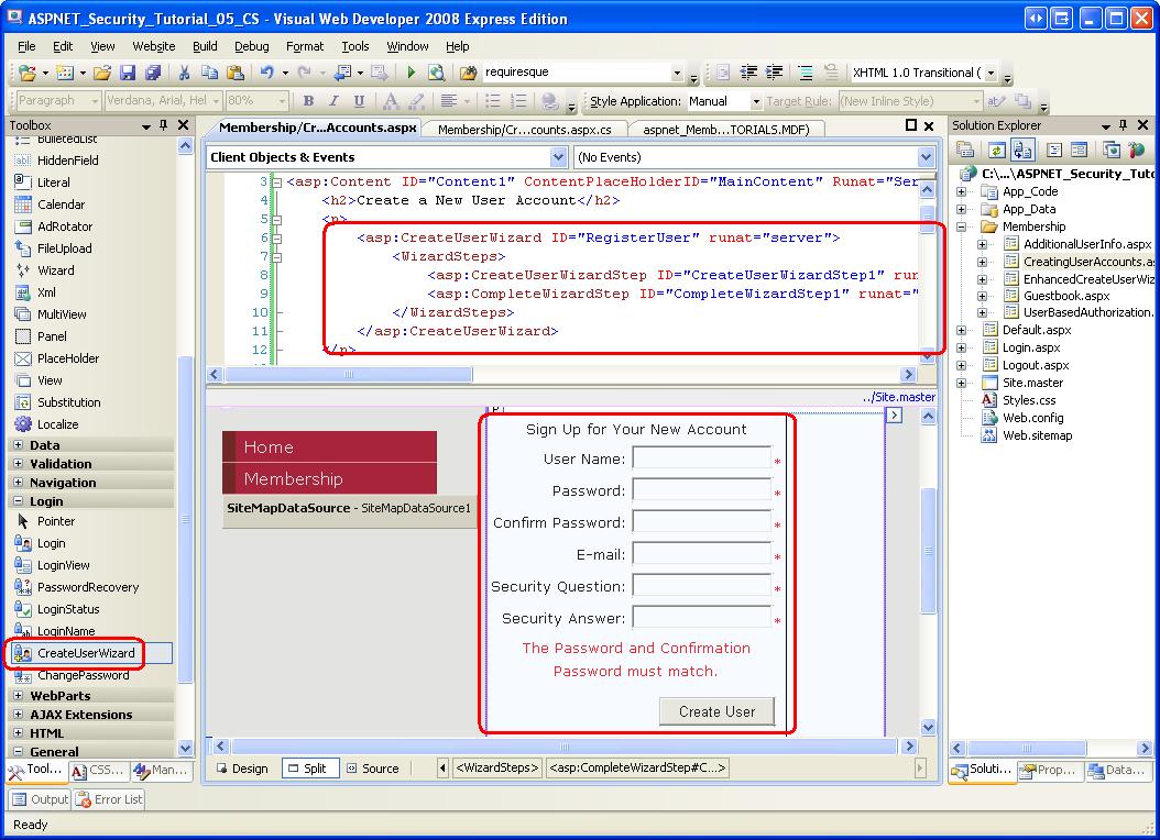 Erstellen von Benutzerkonten (VB) | Microsoft Docs