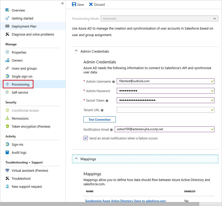 Verwaltung der Benutzerbereitstellung für Unternehmens-Apps in Azure ...