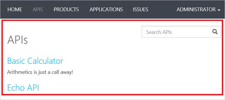 API-Vorlagen in Azure API Management | Microsoft Docs