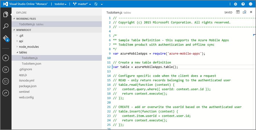 Arbeiten mit dem Node.js Back-End Server SDK für Mobile Apps ...