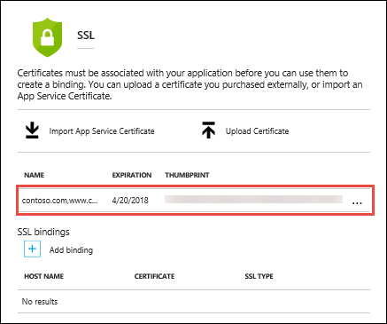 Verwenden eines hochgeladenen SSL-Zertifikats in Ihrem ...