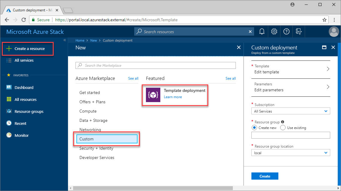 Create highly available SQL databases in Azure Stack | Microsoft Docs