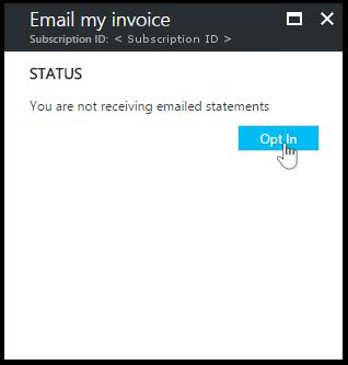 Herunterladen Von Azure Rechnungen Und Täglichen Nutzungsdaten