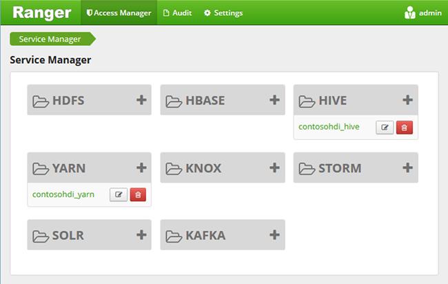 Konfigurieren von Hive-Richtlinien in HDInsight mit dem Enterprise ...