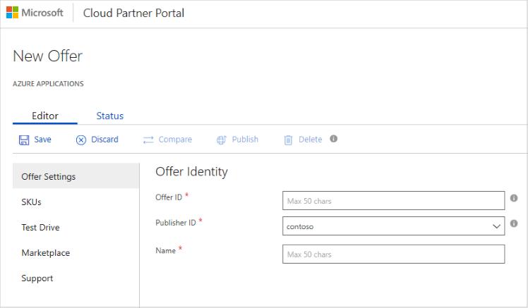 Erstellen Von Marketplace Angeboten Azure Marketplace Microsoft Docs
