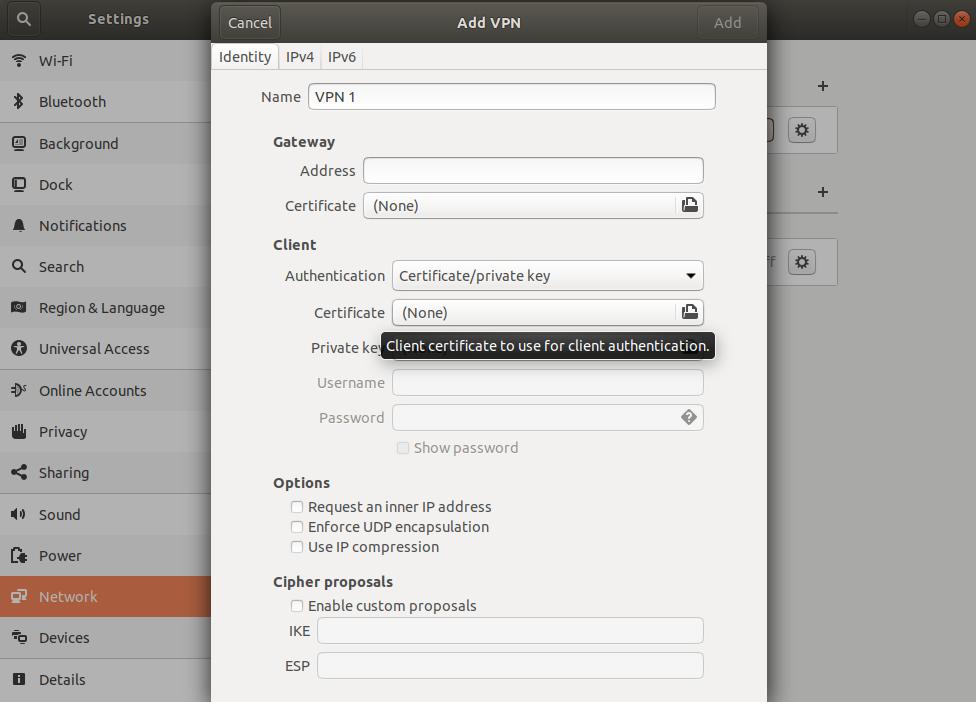 Erstellen und Installieren von P2S-VPN-Clientkonfigurationsdateien ...