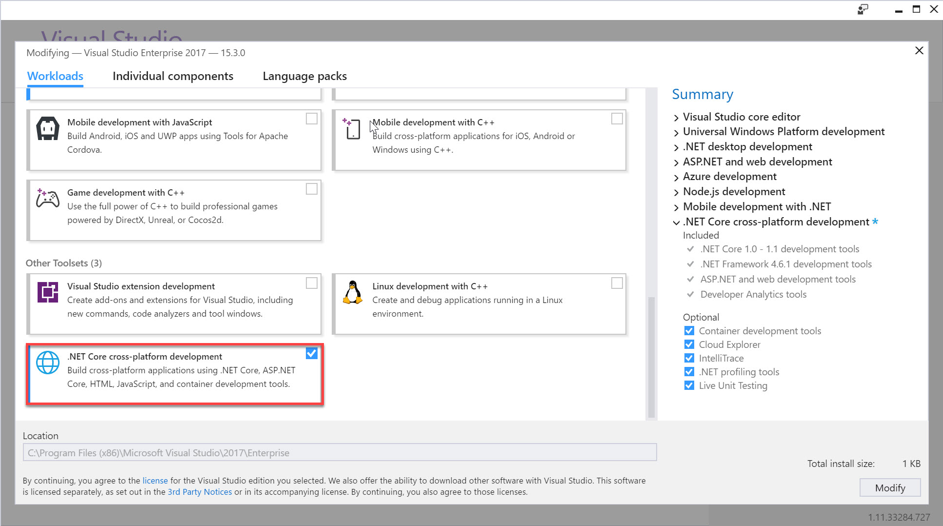 Voraussetzungen für .NET Core unter Windows | Microsoft Docs