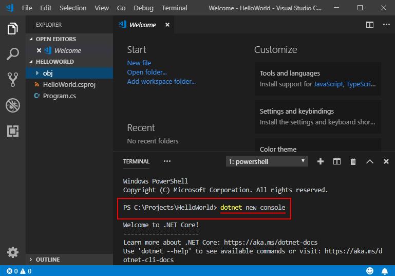 Erste Schritte mit C# und Visual Studio Code (C#-Handbuch ...