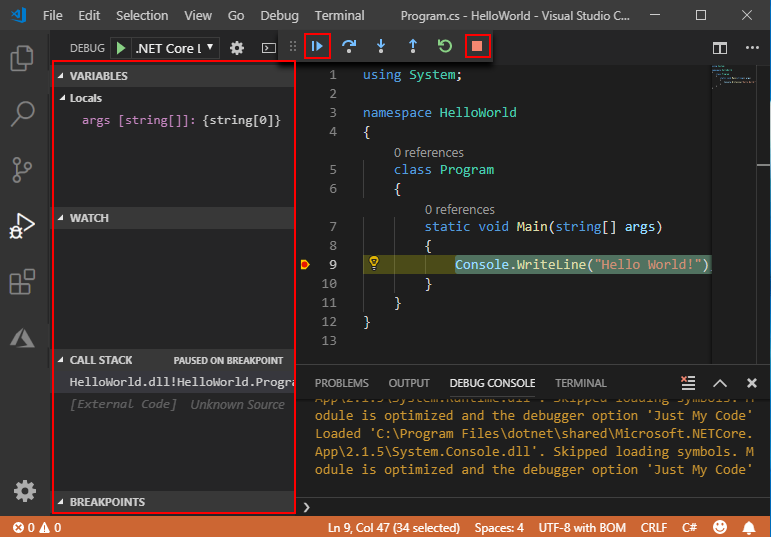 C# graphical user interface tutorial.