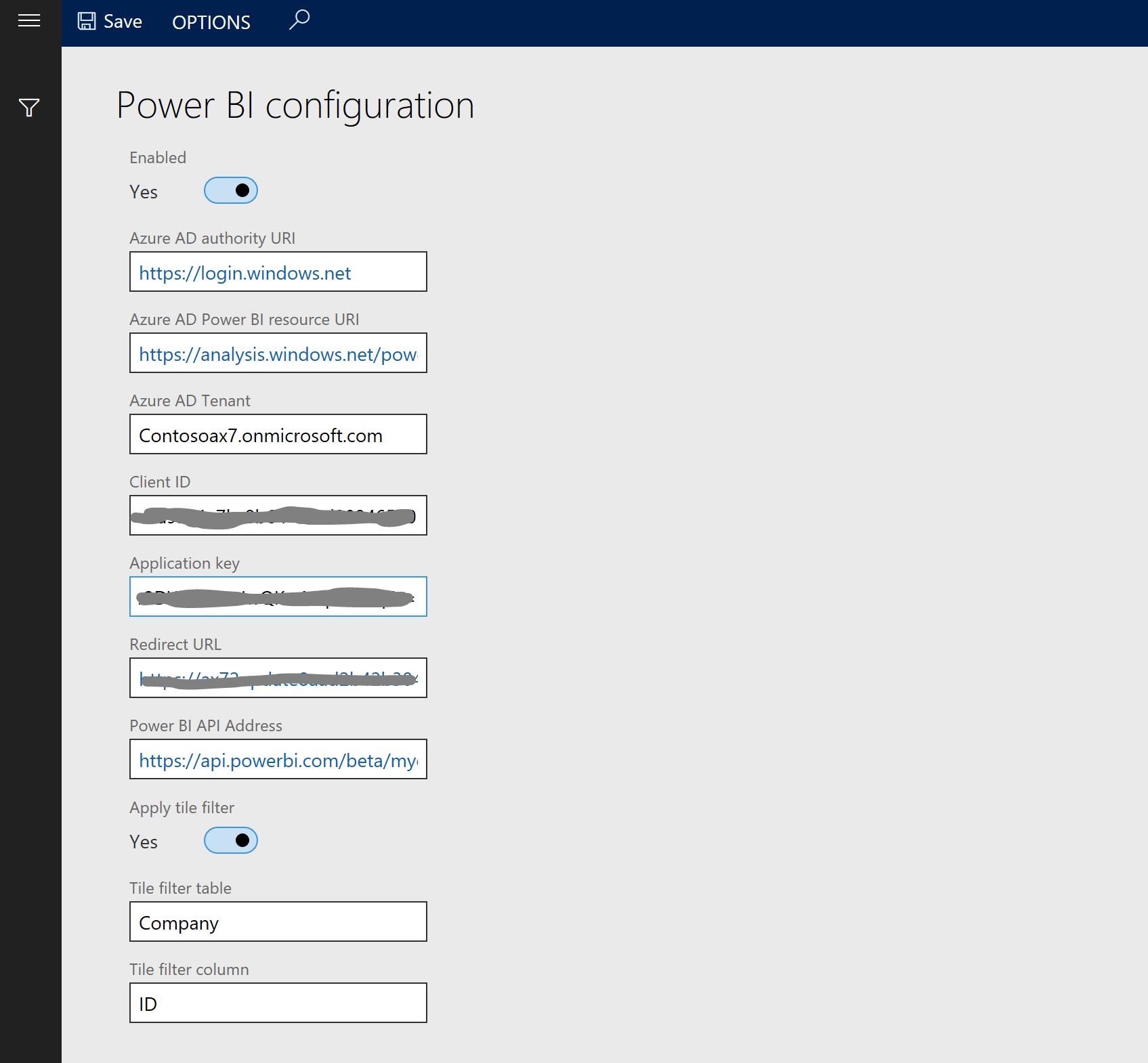 Configure Power BI integration for workspaces - Finance & Operations ...