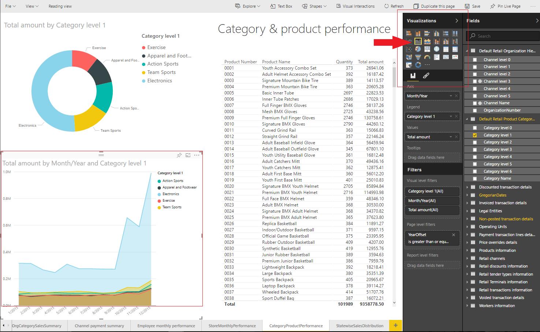 Retail channel performance PowerBI.com solution - Finance ...