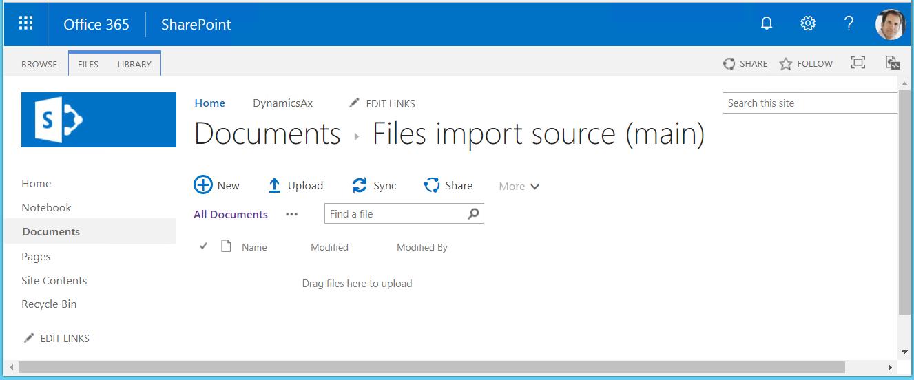 Datenimport Aus Sharepoint Konfigurieren Finance Operations