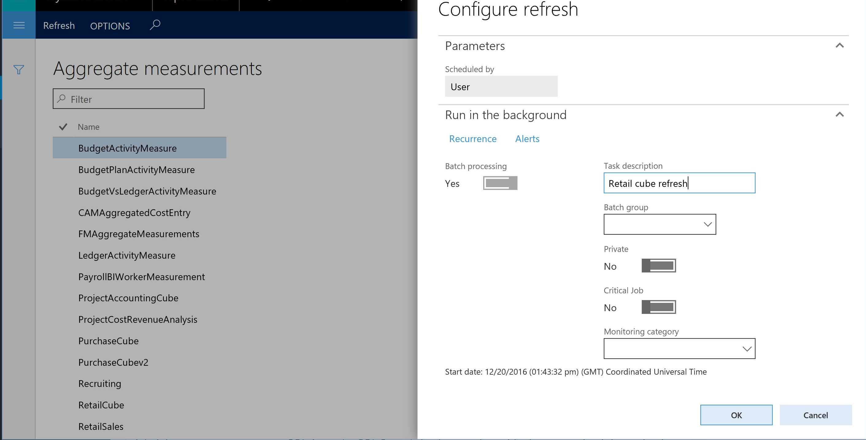 Overview of Power BI integration with Entity store - Finance ...