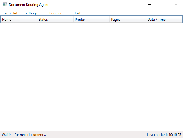Install the Document Routing Agent to enable network printing ...