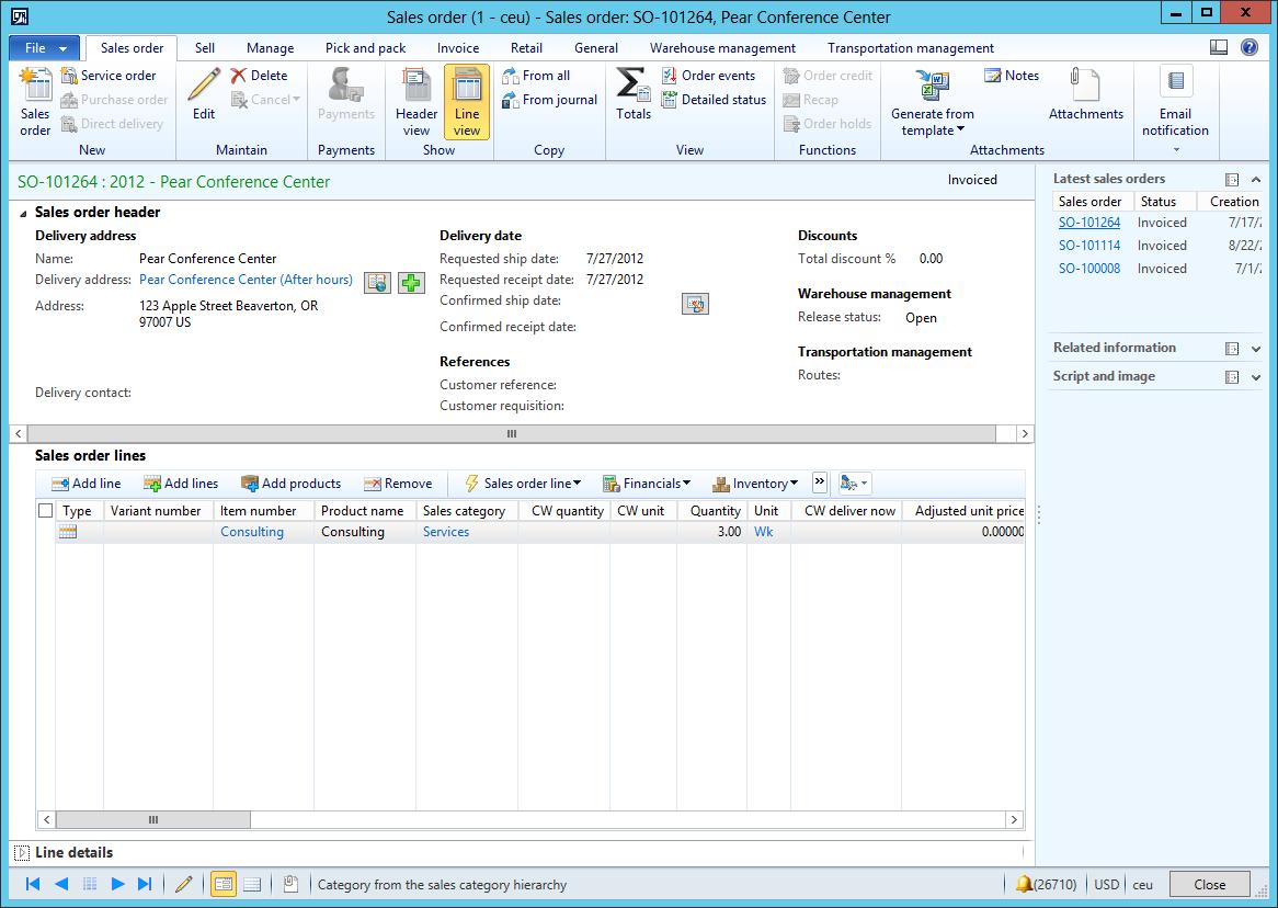 Details Transaction form pattern - Finance & Operations | Dynamics ...