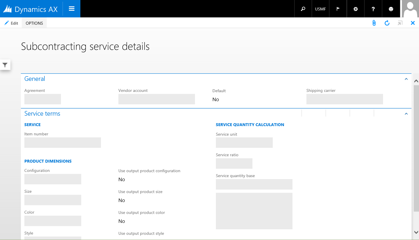 Simple Details form pattern - Finance & Operations   Dynamics 365 ...