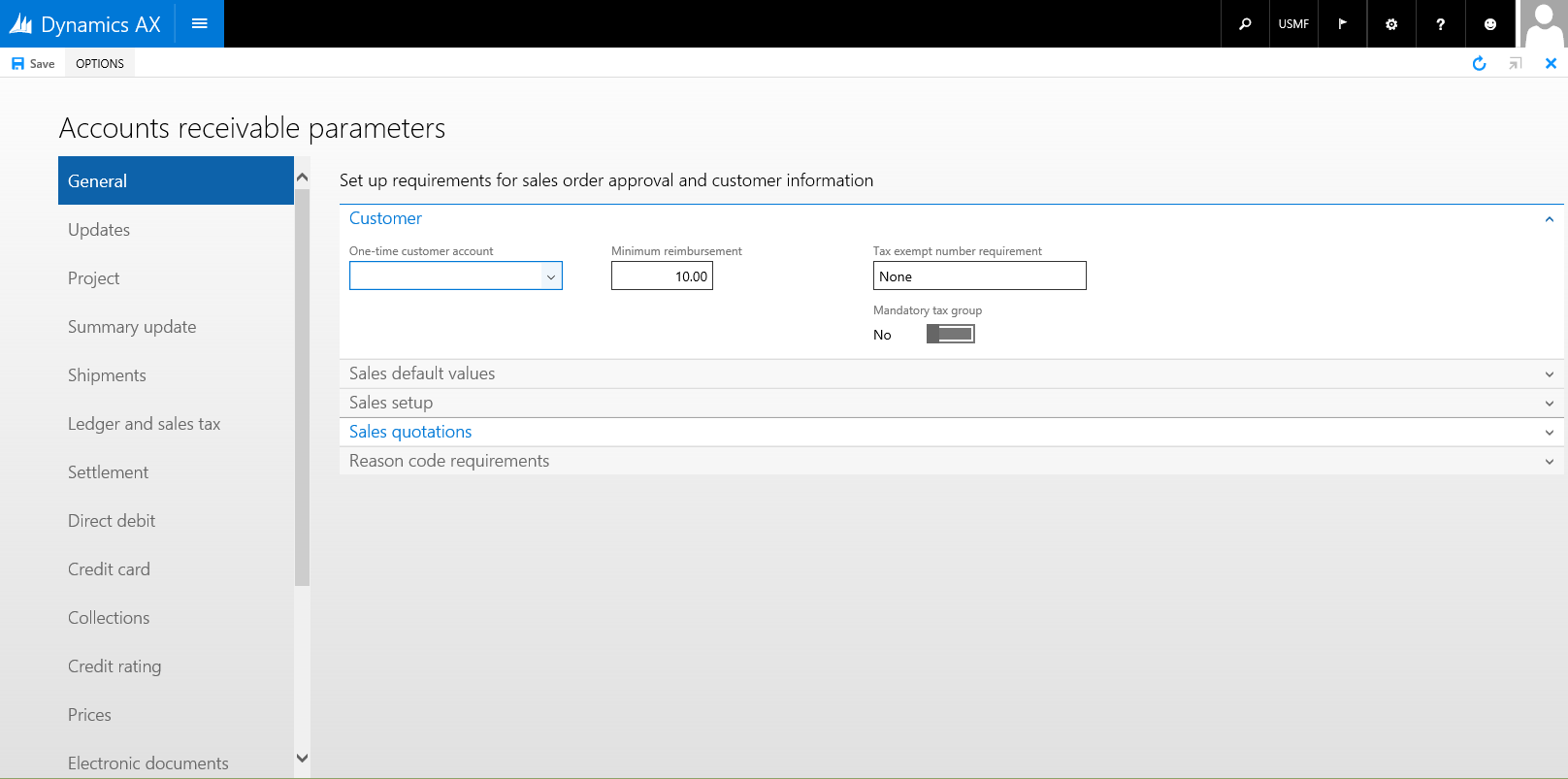 Table of Contents form pattern - Finance & Operations | Dynamics 365 ...