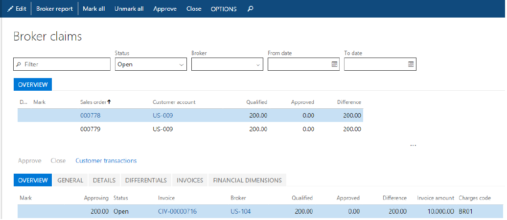 Broker contract management - Finance & Operations | Dynamics 365 ...