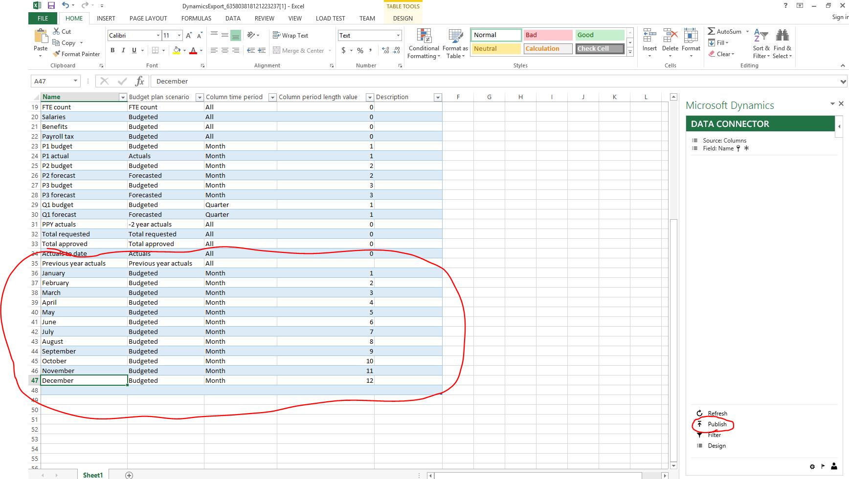 Budgetplanung - Finance & Operations | Dynamics 365 | #MSDyn365FO ...