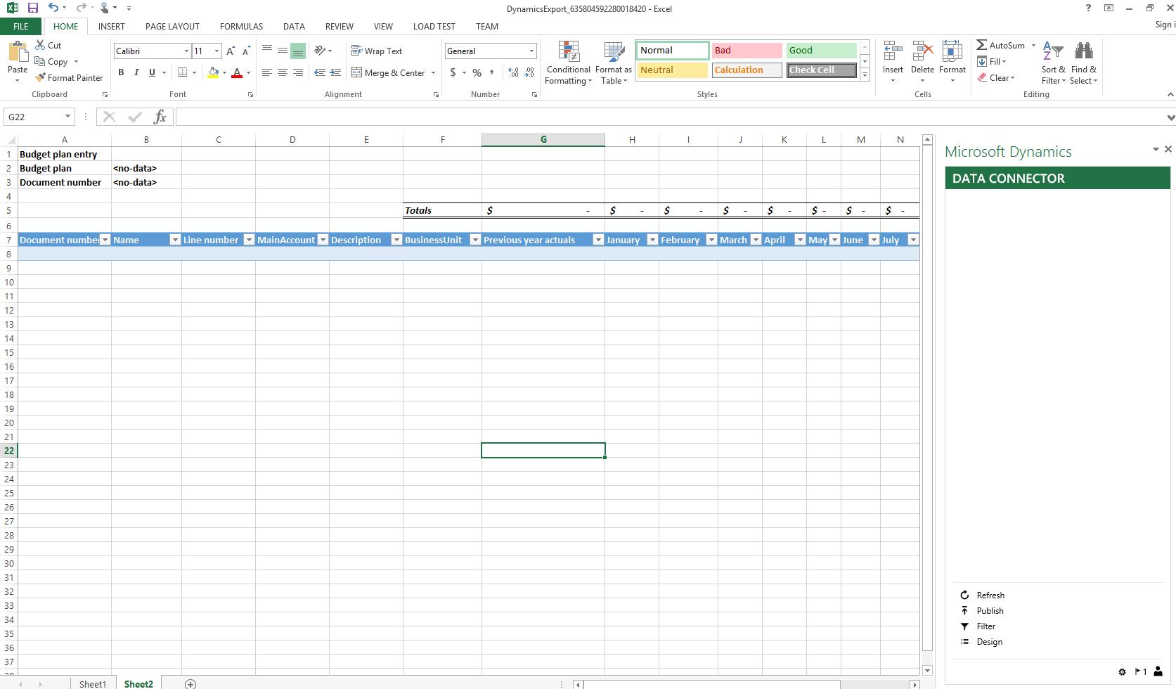 Budgetplanung - Finance & Operations   Dynamics 365   #MSDyn365FO ...